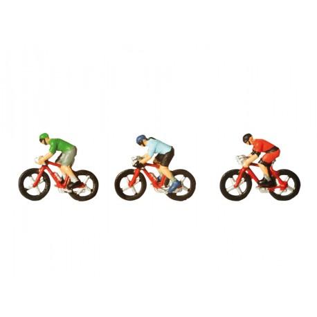 NOCH 36897, Rowerzyści, kolarze wyścigowi, skala N (1:160).