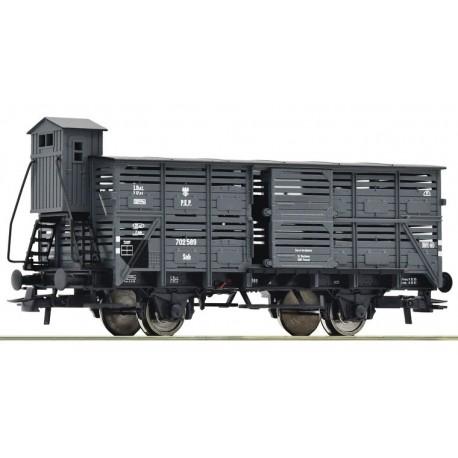 ROCO 76310. Wagon kryty Snh, do transportu zwierząt, PKP, ep.III, skala H0.