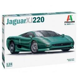Italeri 3631. Jaguar XJ 220, skala 1:24, model do sklejania.