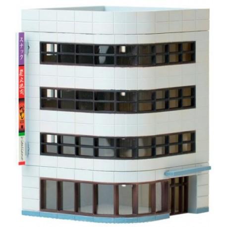 Tomytec 973798. Budynek narożny (sklep, restauracja, biura...), skala N.