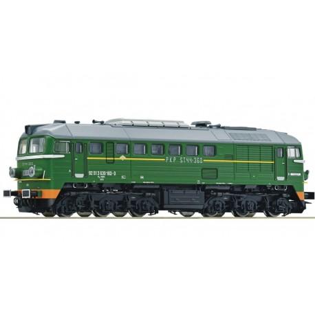 """ROCO 71752. ST44-360, PKP, ep.VI, lokomotywa spalinowa """"Gagarin"""", skala H0."""