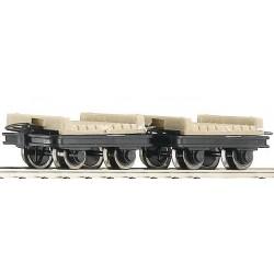 34607 Dwa wagony H0e