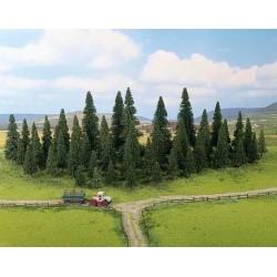NOCH 26826, Zestaw 50 drzew iglastych 5-14 cm