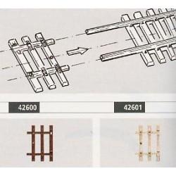 Roco 42600, Końcówki do flexów Roco 42400, skala H0.
