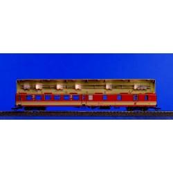 Roco 40360, Oświetlenie wagonów 4-osiowych