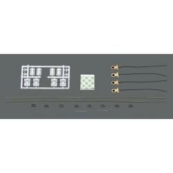 Roco 40361, Oświetlenie wagonów 2 i 3 osiowych