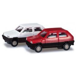 """Herpa 065962, Fiat Panda - dwa modele w skali """"N"""""""