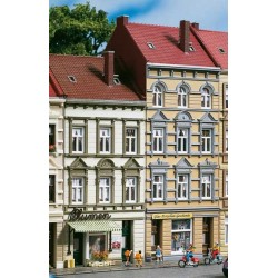 """Auhagen 11392, Dwie kamienice """"Schmidtstrasse 13/15"""", skala H0."""