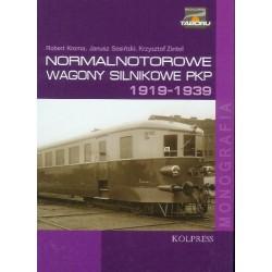 Normalnotorowe wagony silnikowe PKP tom 1 (1919-1939)