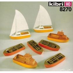 8270 Osiem łodzi różnych, H0