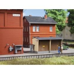 Auhagen 13338 Stacja trafo plus akcesoria, TT