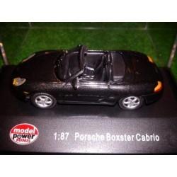 MP 19090, Porsche Boxster Cabrio, black, skala H0.