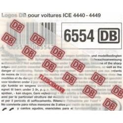"Fleischmann 6554, Kalkomania ""DB"" H0"