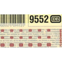 "Fleischmann 9552, Kalkomania ""DB"" N / TT"
