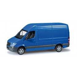 Herpa 091138, Mercedes-Benz sprinter 2013 box with high roof, H0 (91138)